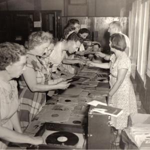 Charley Thomas selling records.jpg